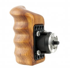 Niceyrig Right Side Wooden Grip with Arri Rosette (Right)