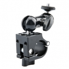 NICEYRIG 25mm Rod Clamp wiht Multi-functional Double Ballhead