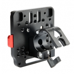 NICEYRIG 25mm Rod Clamp with Quick Release V Lock Assembly Plate