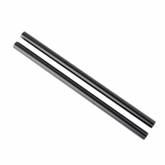 NICEYRIG 15mm Black Aluminum Alloy Rod 30cm/12 inch Long