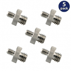 "NICEYRIG 1/4""-20 to 3/8""-16 Tripod Screw Adapter Standard Tripod Mounting Thread Screw Converter"