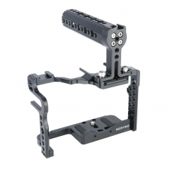 Niceyrig GH5/GH5S Cage with Top Handle for Panasonic Lumix Camera