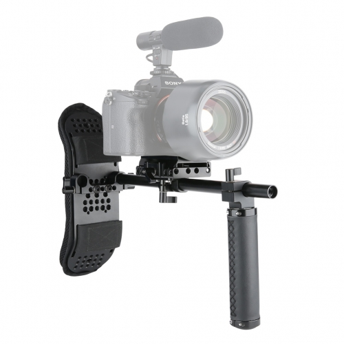 Niceyrig One Hand Grip Chest Stabilizer Support System for DSLR Cameras & Mirrorless Cameras