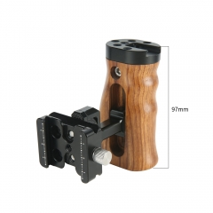 Niceyrig Wooden Side Handle with Arca Quick Release Clamp